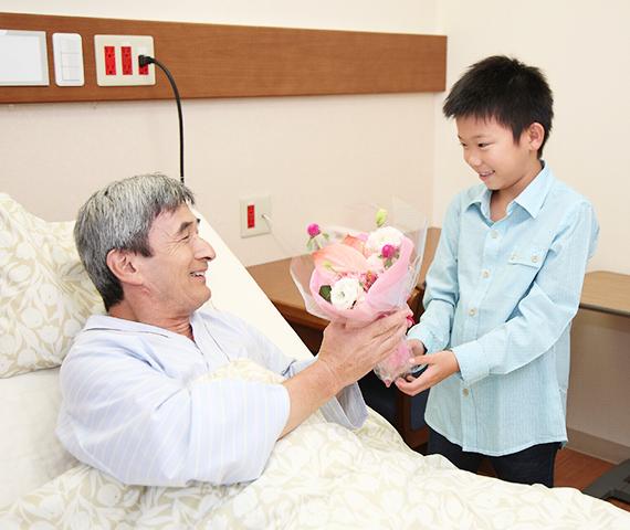 入院患者様の面会時間について